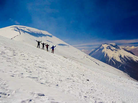 Ascent To Lascar Volcano