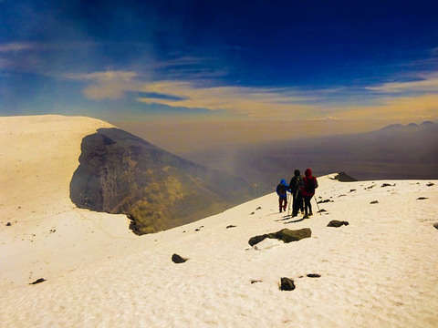 Ascenso Al Volcan Activo Lascar