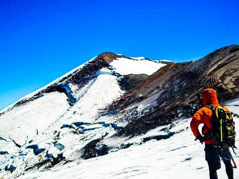 Ascenso Al Nevado de Chillan