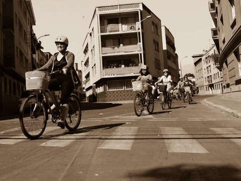 En Bicicleta por la Ciudad de Santiago
