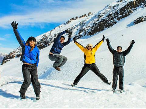 Panoramic Cordillera de los Andes