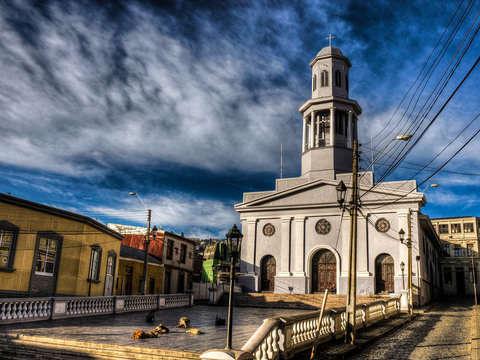 Caminando por Valparaiso