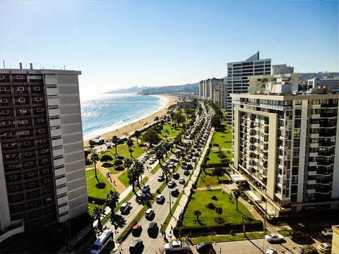 Pacific Coast: Viña del Mar, Reñaca and Concón