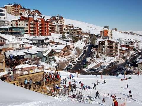 Esquí para Principiantes y Clase de Esquí en la Parva