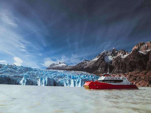 Gray Glacier from Puerto Natales