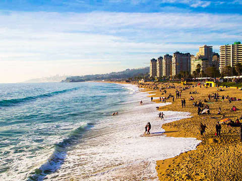 Tour of the Pacific Coast - Viña del Mar to Reñaca